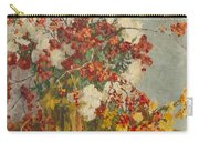 Still Life With Pink Flowers Carry-all Pouch