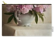 Still Life With Pink Peonies Carry-all Pouch