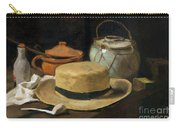 Still Life With Straw Hat, By Vincent Van Gogh, 1881, Kroller-mu Carry-all Pouch