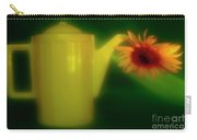 Still Life With Sunflower And Coffee Pot. Carry-all Pouch