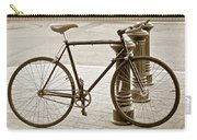 Still Life With Trek Bike In Sepia Carry-all Pouch