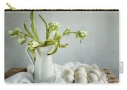 Still Life With Tulips And Eggs Carry-all Pouch