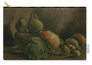 Still Life With Vegetables And Fruit Nuenen, Autumn 1884 Vincent Van Gogh 1853  1890 Carry-all Pouch