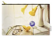 Still Life - Yellow Calla Lilies Carry-all Pouch
