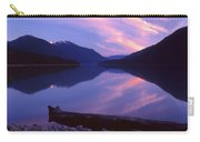 Stillness At Lillooet Lake  Carry-all Pouch