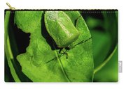 Stink Bug On Leaf Carry-all Pouch