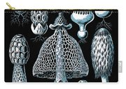 Stinkhorn Mushrooms Vintage Illustration Carry-all Pouch