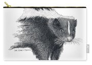 Stiped Skunk Carry-all Pouch
