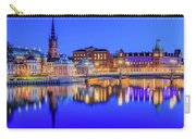 Stockholm Blue Hour Postcard Carry-all Pouch