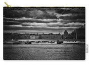 Stockholm In Black And White Carry-all Pouch