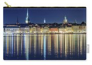 Stockholm Old City Magic Quartet Reflection In The Baltic Sea Carry-all Pouch