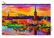 Stockholm Reflective Art Carry-all Pouch
