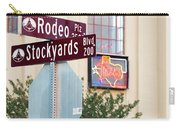 Stockyards Fort Worth 6815 Carry-all Pouch