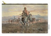 Stolen Horses Carry-all Pouch by Charles Marion Russell