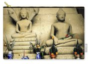 Stone And Flowers - Buddhist Shrine Carry-all Pouch