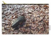 Stone And Leaves Carry-all Pouch