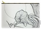 Stone Angel Carry-all Pouch by Loretta Nash