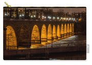 Stone Arch Bridge Night Shot Carry-all Pouch