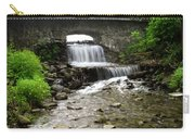 Stone Bridge Over Small Waterfall Carry-all Pouch