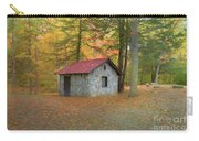 Stone Building In Autumn Carry-all Pouch
