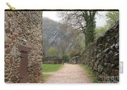 Stone Building Wall And Fence Carry-all Pouch