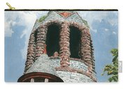 Stone Church Bell Tower Carry-all Pouch by Dominic White