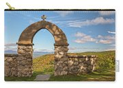 Stone Church In Autumn Carry-all Pouch