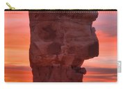 Stone Face Sunset Carry-all Pouch