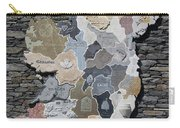 Stone Map Of Ireland Carry-all Pouch