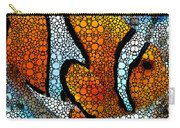 Stone Rock'd Clown Fish 2 - Sharon Cummings Carry-all Pouch