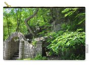 Stone Stairway Along The Wissahickon Creek Carry-all Pouch
