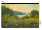 Stone Wall Above The Hudson Carry-all Pouch