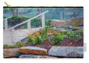 Stone Wall And Stairs Carry-all Pouch