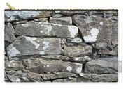 Stone Wall Detail Doolin Ireland Carry-all Pouch