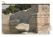 Stone Wall In Foca Carry-all Pouch