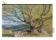 Stone Wall Spring Landscape Carry-all Pouch