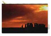 Stonehenge Impasto 2 Carry-all Pouch