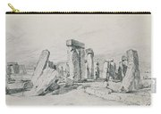 Stonehenge Wiltshire Carry-all Pouch