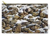 Stones And Snow Carry-all Pouch