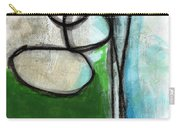 Stones- Green And Blue Abstract Carry-all Pouch