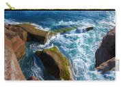 Stony Shore In Costa Adeje Carry-all Pouch