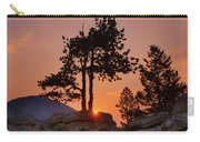 Stop Right Here - Rocky Mountain Np - Sunrise Carry-all Pouch
