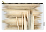 Stored Wooden Toothpicks Carry-all Pouch