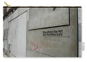 Storefront For Art And Architecture Carry-all Pouch