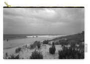 Storm Approaching - Jersey Shore Carry-all Pouch by Angie Tirado