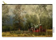 Storm Approaching White Birch Cottage Carry-all Pouch
