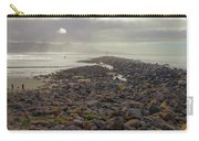 Storm At Morro Rock Breakwater Morro Bay California Carry-all Pouch
