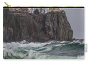 Storm At Split Rock Lighthouse Carry-all Pouch