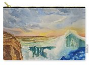 Storm At Sunset Carry-all Pouch