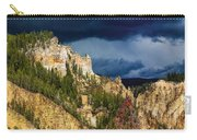 Storm Brewing Over Yellowstone Carry-all Pouch